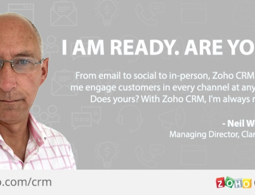 Zoho releases new User Interface for CRM – new functionality